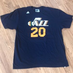 Adidas Basketball t-Shirt NBA #20 Jazz Hayward XL
